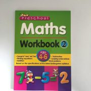 Preschool Maths Workbook 2 Ages 4-6 availaible on yormarket an online shopping marketplace, Namibia (1)